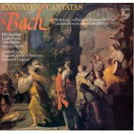 Johann Sebastian Bach, Elly Ameling • Linda Finnie • Aldo Baldin • Samuel Ramey, English Chamber Orchestra, Raymond Leppard - Cantatas • Kantaten «Wachet Auf, Ruft Uns Die Stimme» BWV 140 / «Ein Feste Burg Ist Unser Gott» BWV 80