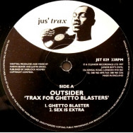 Outsider ‎– Trax For Ghetto Blasters