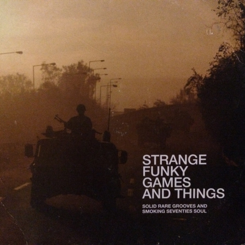 Various Artists - Strange funky games and things